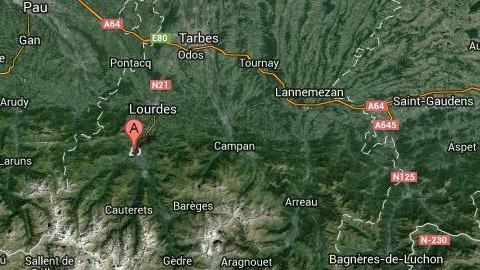 Pyrenees Argeles Gazost Tremblements terre